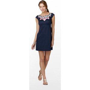 Lilly Pulitzer Allura Embroiderd Bib Dress